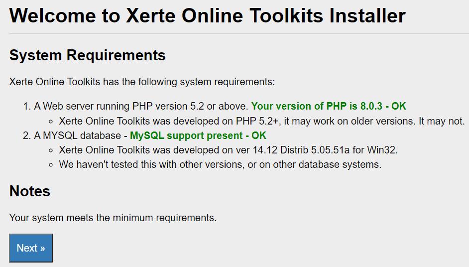 xerte-installer-sysreq-check-screen.png